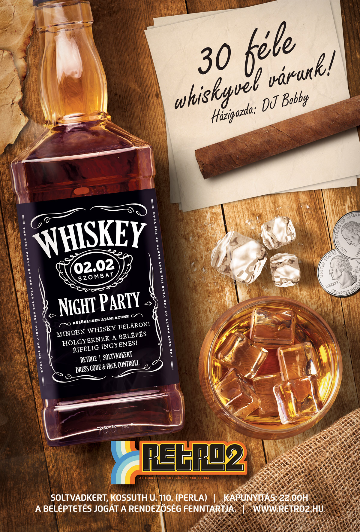 20190202 whisky party FLYER